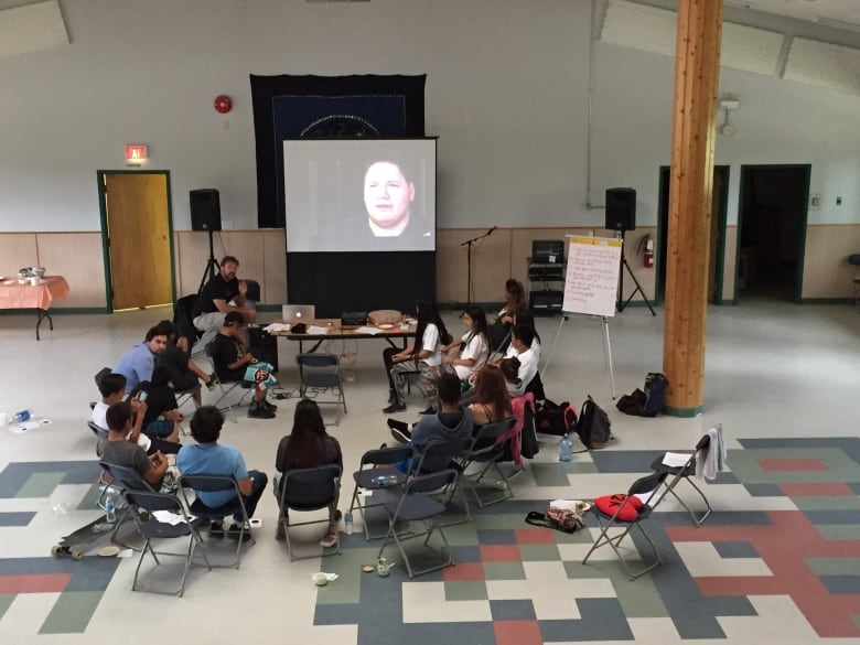 youth group talks