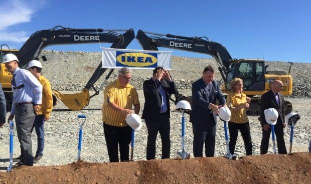Ikea ground breaking
