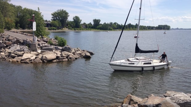 The Aylmer Marina is considering removing rocks from the main channel because water levels are so low that some boats are touching the bottom.
