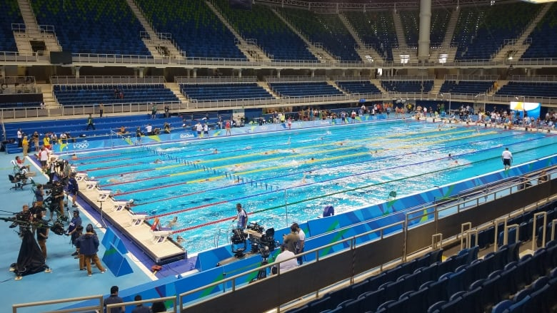Cbc 39 S Andrew Chang In Rio A Look At The Aquatics Stadium Cbc News
