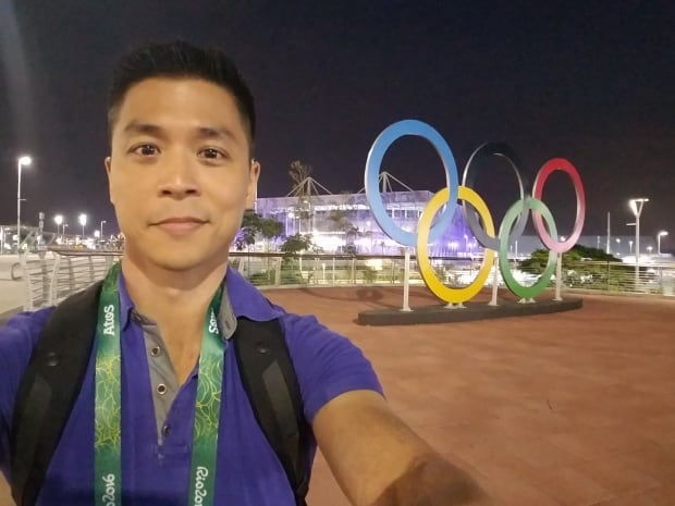 Andrew Chang Rio Olympic rings