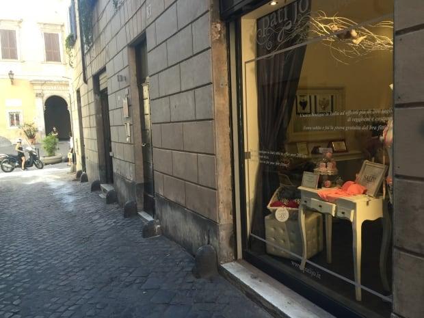 Pati Jo bra boutique Rome