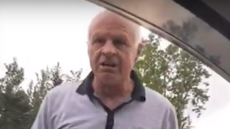 Angry man smashes Grande Prairie driver's windows | CBC News