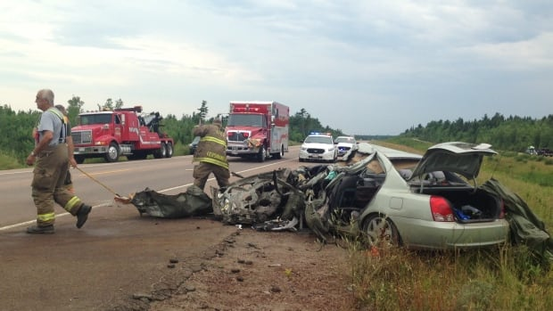 Car Accident On Highway  Today