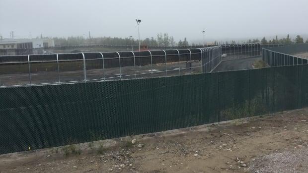 North Slave Correctional facility fence