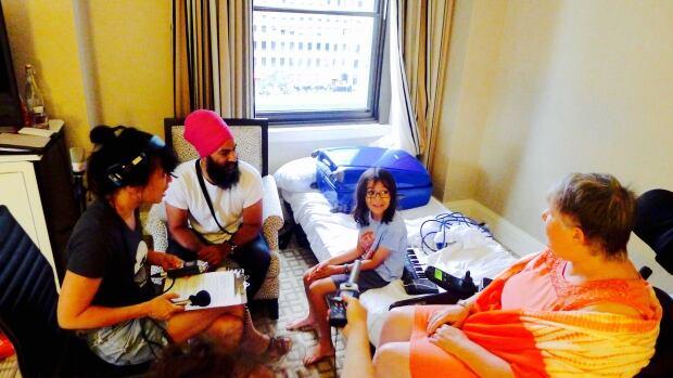 Jagmeet Singh, Tai Poole, Judy Kennedy, Sook-Yin Lee - Sleepover 3