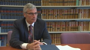 Mike Mahon, Manitoba's head of prosecutions,