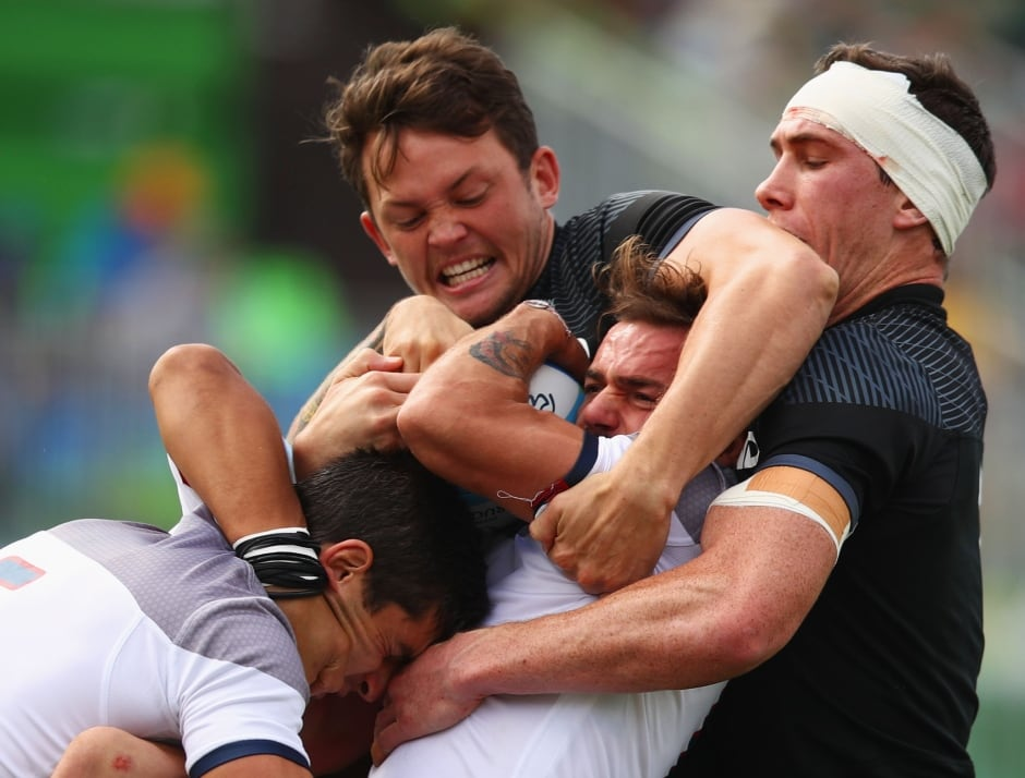 Rio Olympics Day 6 highlights Aug 11 2016 NZ v France rugby