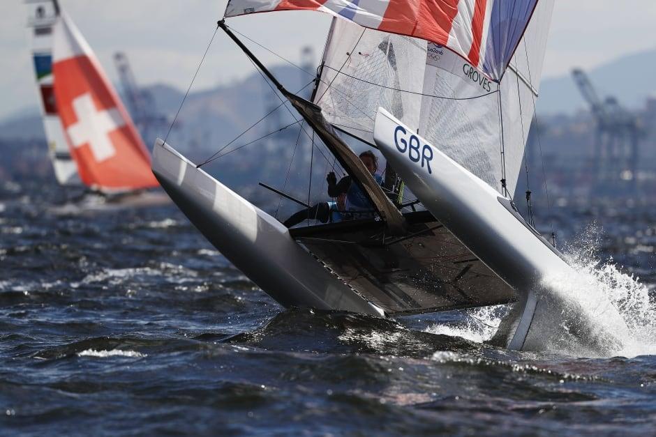 Rio Olympics Day 6 highlights Aug 11 2016 ben saxton sailing