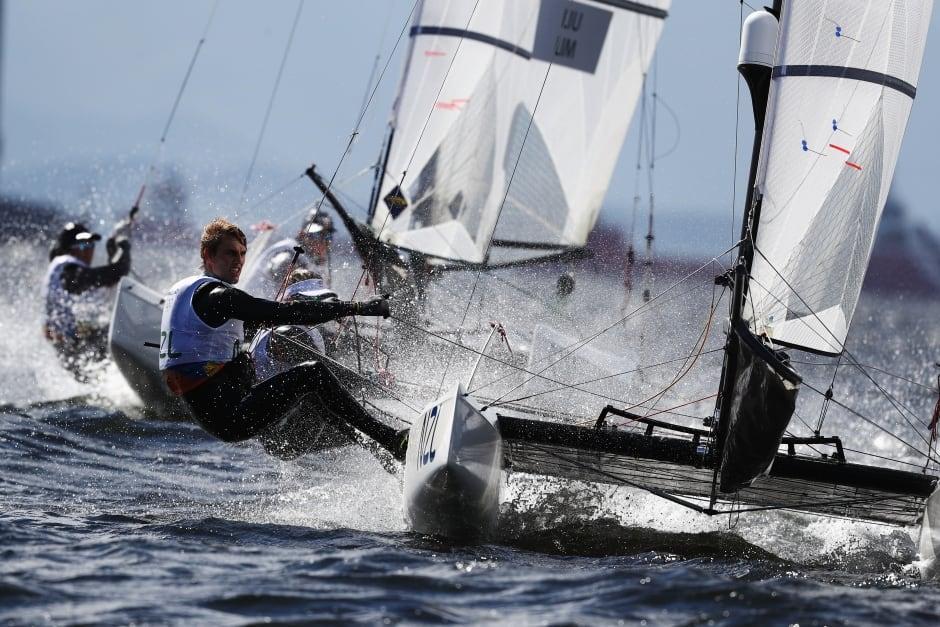 Rio Olympics Day 6 highlights Aug 11 2016 gemma jones sailing