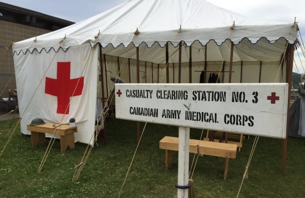 Medical tent recreation WWI & After Beaumont Hamelu0027 event in St. Johnu0027s to remember other WW1 ...
