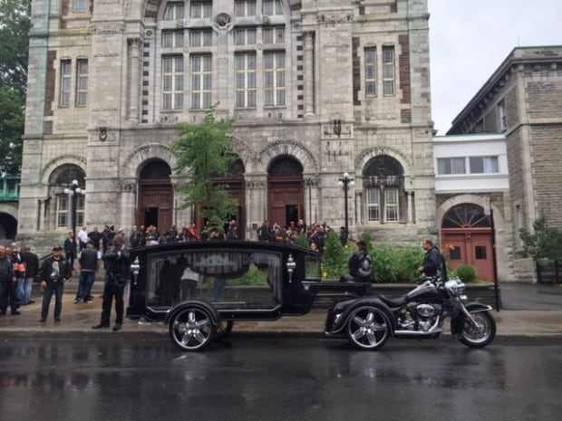Kenny Bedard funeral