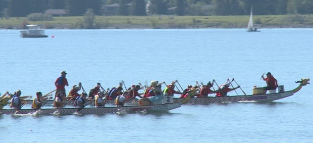 Calgary dragon boat race and festival