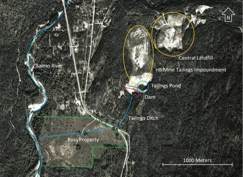 B C  landowner in standoff with mine, governments to clean