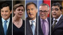 Conservative leadership contestants
