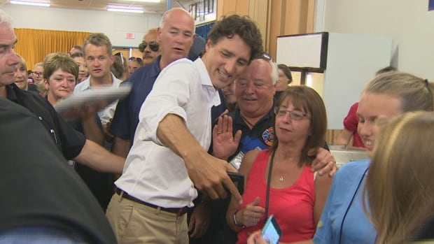 Prime Minister Justin Trudeau is facing questions over whether his grassroots tour is more of a campaign-style event to benefit the Liberal party.