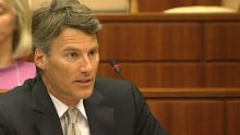Gregor Robertson at Trans Mountain Kinder Morgan hearing