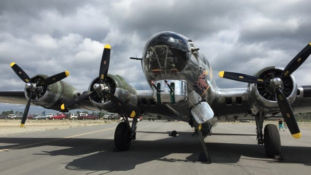 One of the last B-17 bombers in Sudbury this week | CBC News