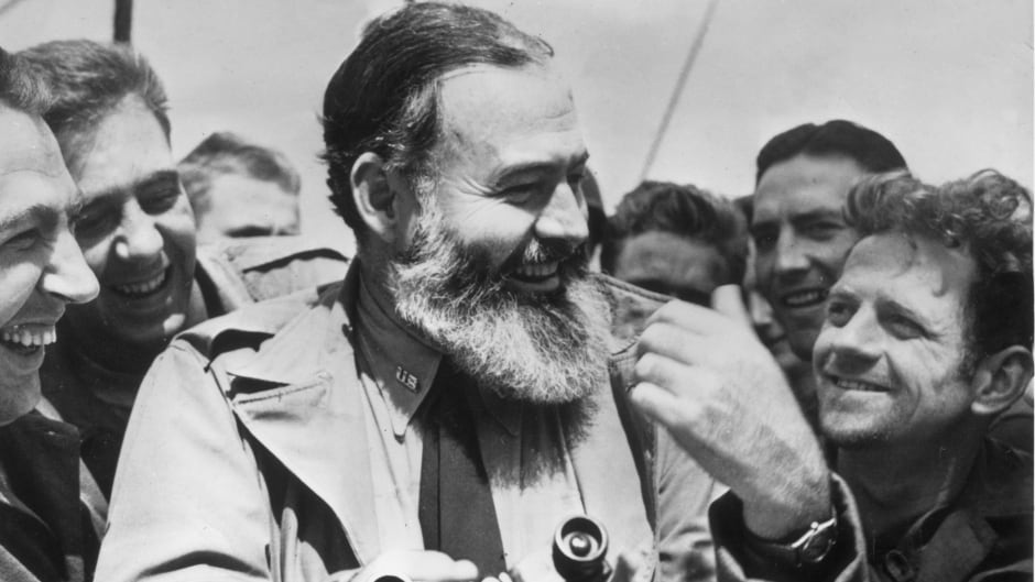 American author Ernest Hemingway was an icon of masculinity.