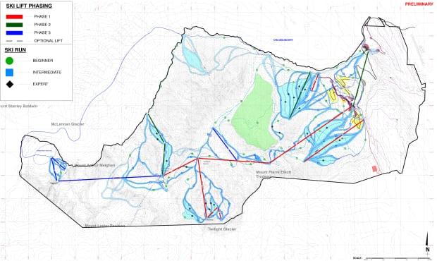 Valemount Glacier Destination Resort plan