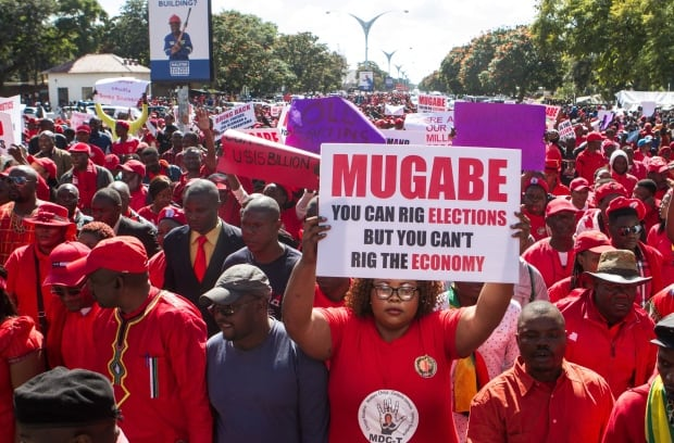 Image result for images of mugabe on election campaign ground