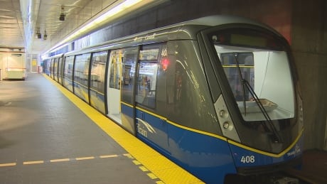 The newest Skytrain model, the Mark III.