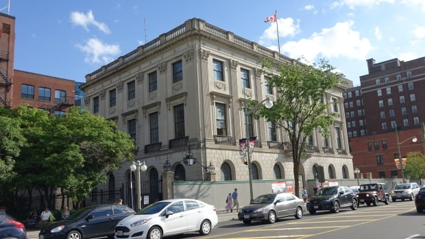 Built from 1931 to 1932, the Beaux-Arts style building at 100 Wellington St. has sat empty for 18 years, ever since American diplomats moved to their current home on Sussex Drive.