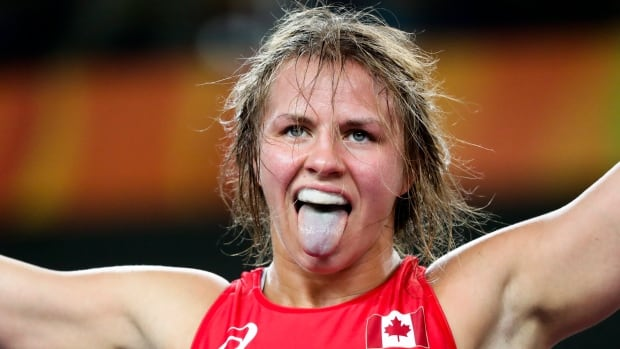 Her pose at the Rio Olympics may have evoked the WWE's George (The Animal) Steele, but Erica Wiebe's latest venture doesn't require her to play a character. India's Pro Wrestling League is paying the Canadian gold medallist to do what she does best - take down her foes for real.