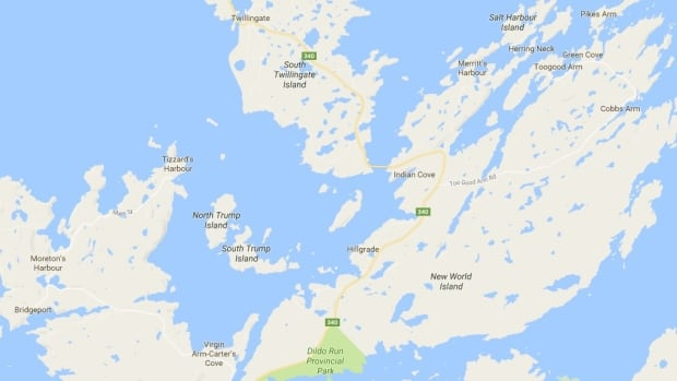 The Trump Islands are tucked into one of the tickles south of Twillingate Island and don't appear on maps of the area until 1860.