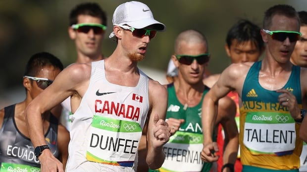 Rather than lamenting his missed opportunity for Olympic glory, Canadian race walker Evan Dunfee has taken responsibility for his own actions that may have cost him a medal.