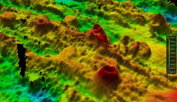 Undersea volcanoes