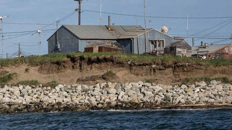 This village in Alaska has voted to move before climate ...