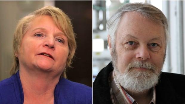 NDP MLA Barb Miller's choice in constituency office coffee has Wildrose MLA Don MacIntyre steaming.