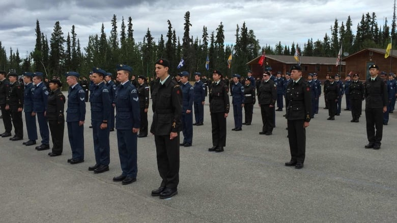 Top Canadian Army officer presides over Whitehorse cadet