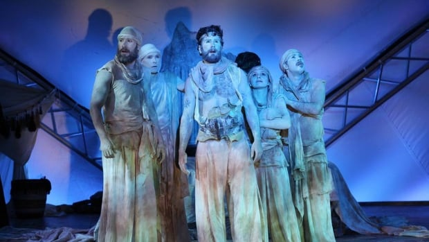 """Malcolm Dow is the composer and sound designer for Bard on the Beach's 2016 production of Shakespeare's 'Pericles' — a play he describes as """"Game of Thrones set in ancient Syria."""""""