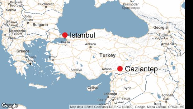 Turkey wedding attack