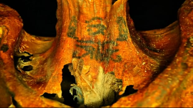 The use of modern imaging software and infrared scanners allowed researchers to find more than 30 tattoos on this 3,300-year-old-mummy.