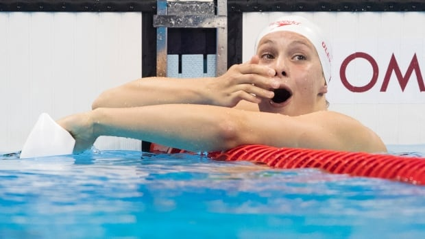 Penny Oleksiak can add the Lou Marsh Award to her haul from 2016.