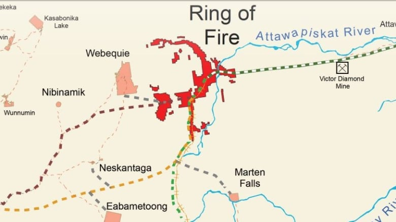 Ring Of Fire Ontario Road