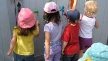 Children at a Winnipeg Day Care Centre