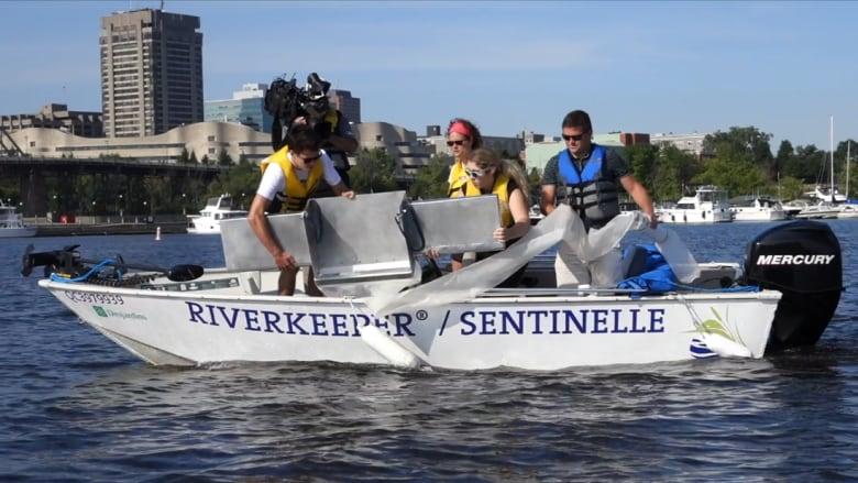 Ottawa Riverkeeper Microplastic Study
