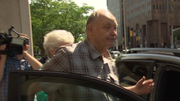 Retired teacher and coach Donald Greenham, seen here in Aug. 2016, was working at the Ottawa-Carleton District School Board when the alleged crimes occurred, police said.