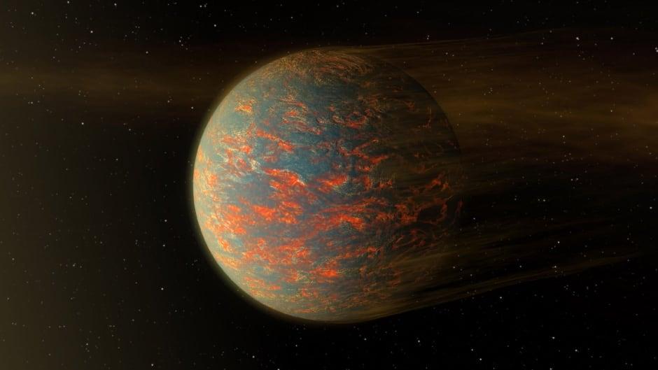 Lava world 55 Cancri e