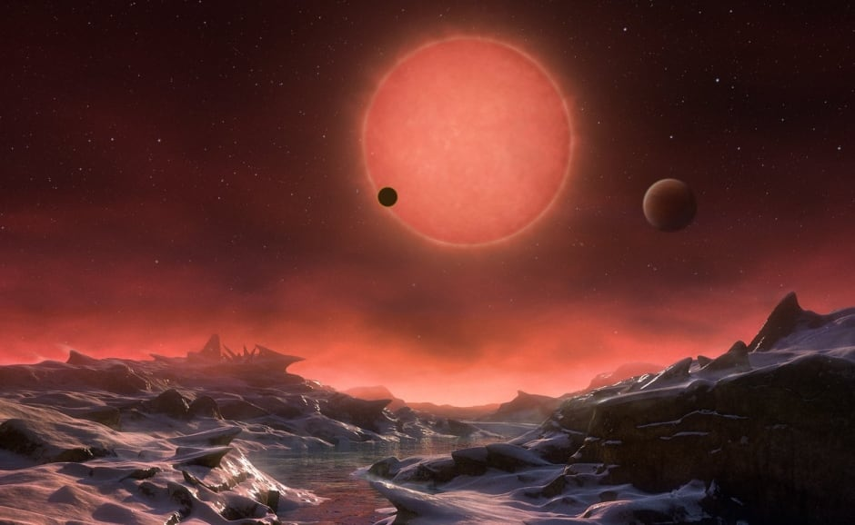 Clone of Artist's impression of the ultracool dwarf star TRAPPIST-1 fro