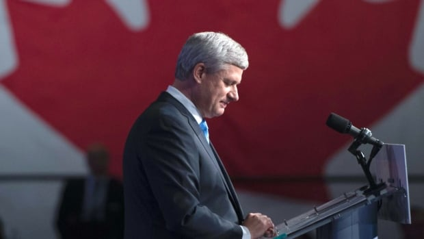 Former prime minister Stephen Harper looks set to spend more time behind the podium after signing up with the Worldwide Speakers group.
