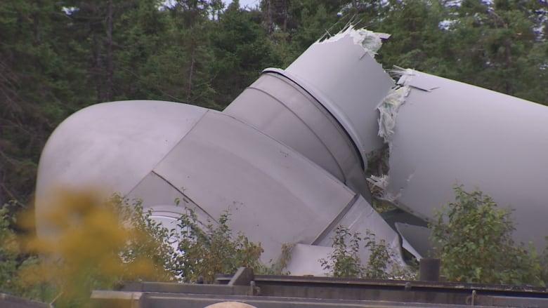 Forgotten Washer Heard In Hub Before Wind Turbine