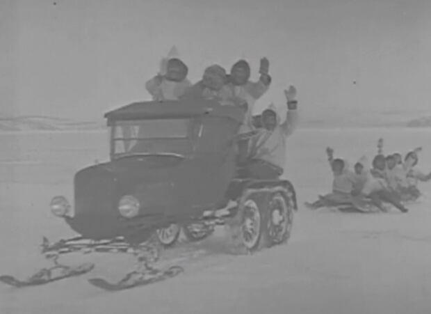 Model T snowmobile, 1920's