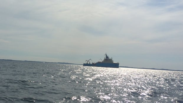 Resolve Salvage of Fort Lauderdale, Florida is conducting the assessment work out on Notre Dame Bay