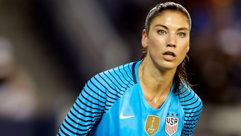 3d0bcdd20 Hope Solo won t be in net for the United States until at least February  2017. (Jamie Squire Getty Images)