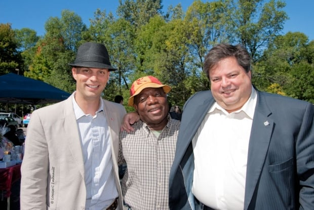 Alexandre Mattard-Michaud, Eddy Chery and Mauril  Bélanger